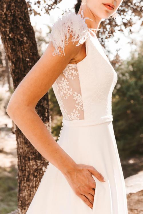 Vestidos de novia 2022 Silvia Fernandez Debut 7