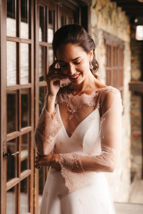 Vestidos de novia 2022 Silvia Fernandez Dedalo 10