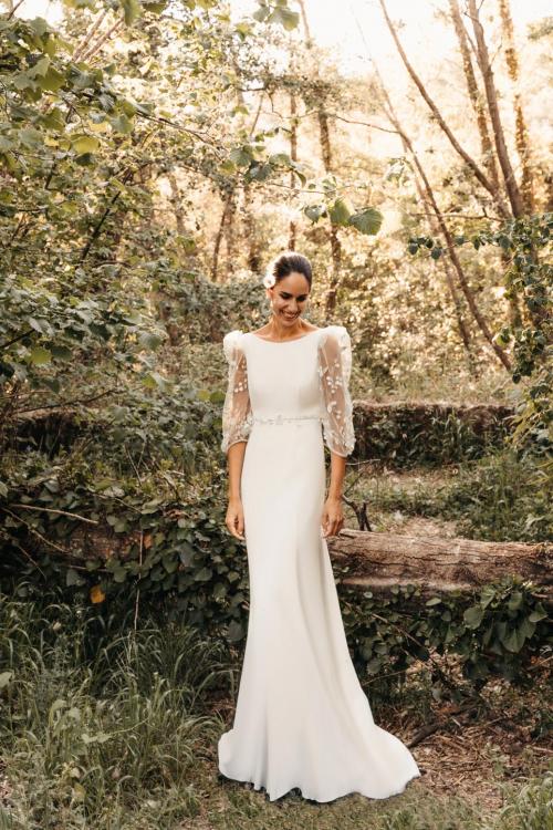 Vestidos de novia 2022 Silvia Fernandez Delia 10