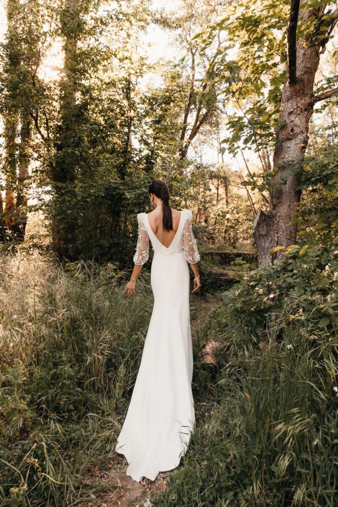 Vestidos de novia 2022 Silvia Fernandez Delia 11