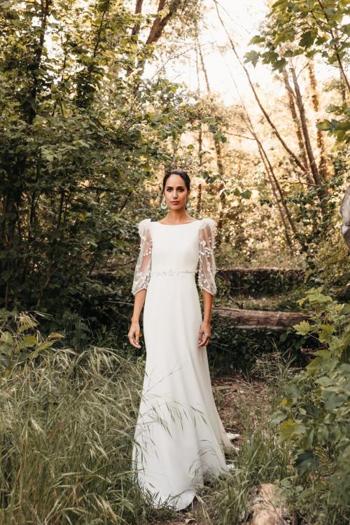 Vestidos de novia 2022 Silvia Fernandez Delia 12