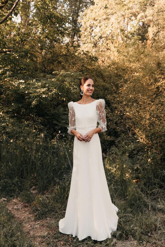 Vestidos de novia 2022 Silvia Fernandez Delia 6