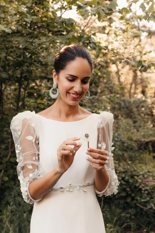 Vestidos de novia 2022 Silvia Fernandez Delia 9