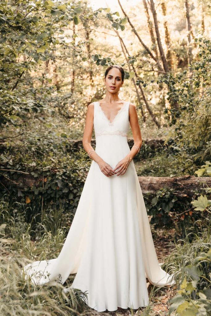 Vestidos de novia 2022 Silvia Fernandez Demelsa 4