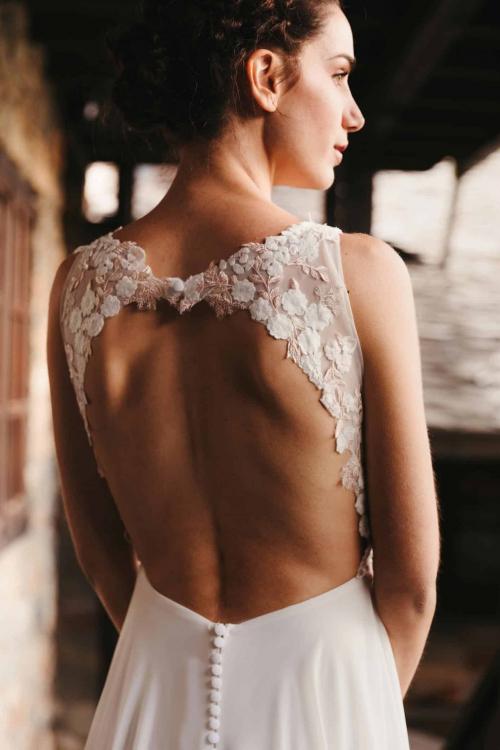 Vestidos de novia 2022 Silvia Fernandez Denise 12