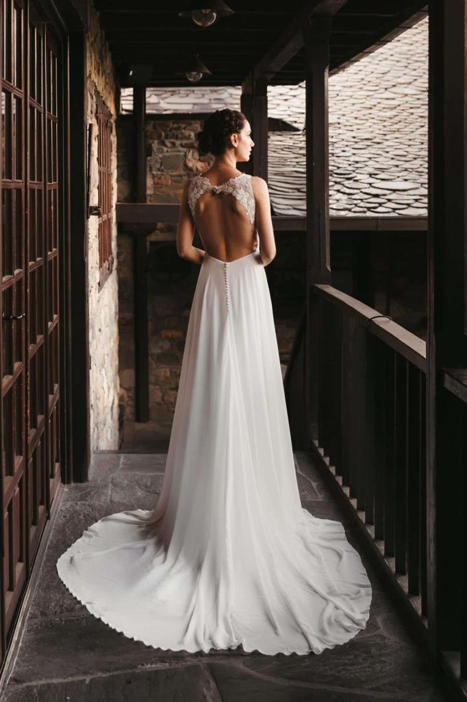 Vestidos de novia 2022 Silvia Fernandez Denise 13