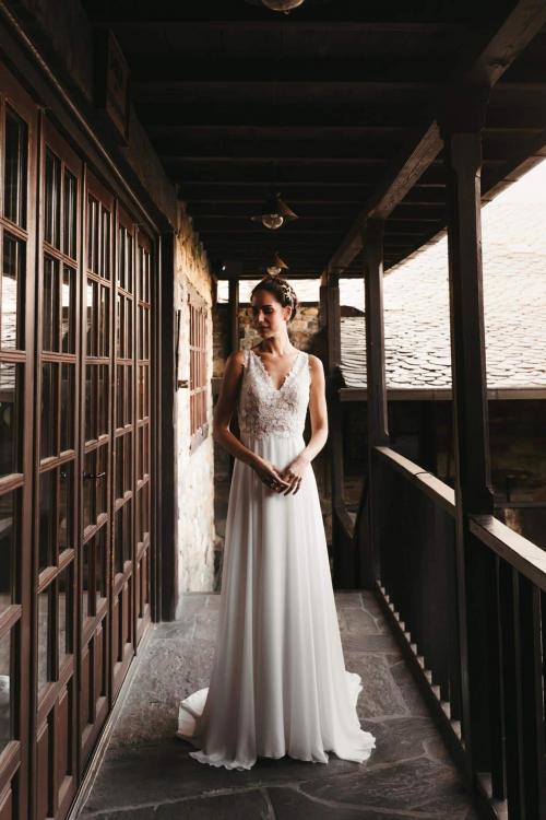 Vestidos de novia 2022 Silvia Fernandez Denise 14