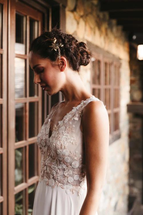 Vestidos de novia 2022 Silvia Fernandez Denise 15