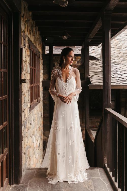 Vestidos de novia 2022 Silvia Fernandez Desierto 3