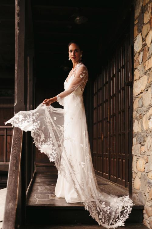 Vestidos de novia 2022 Silvia Fernandez Desierto 8