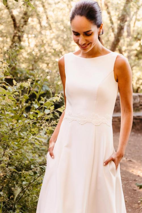 Vestidos de novia 2022 Silvia Fernandez Destello 1