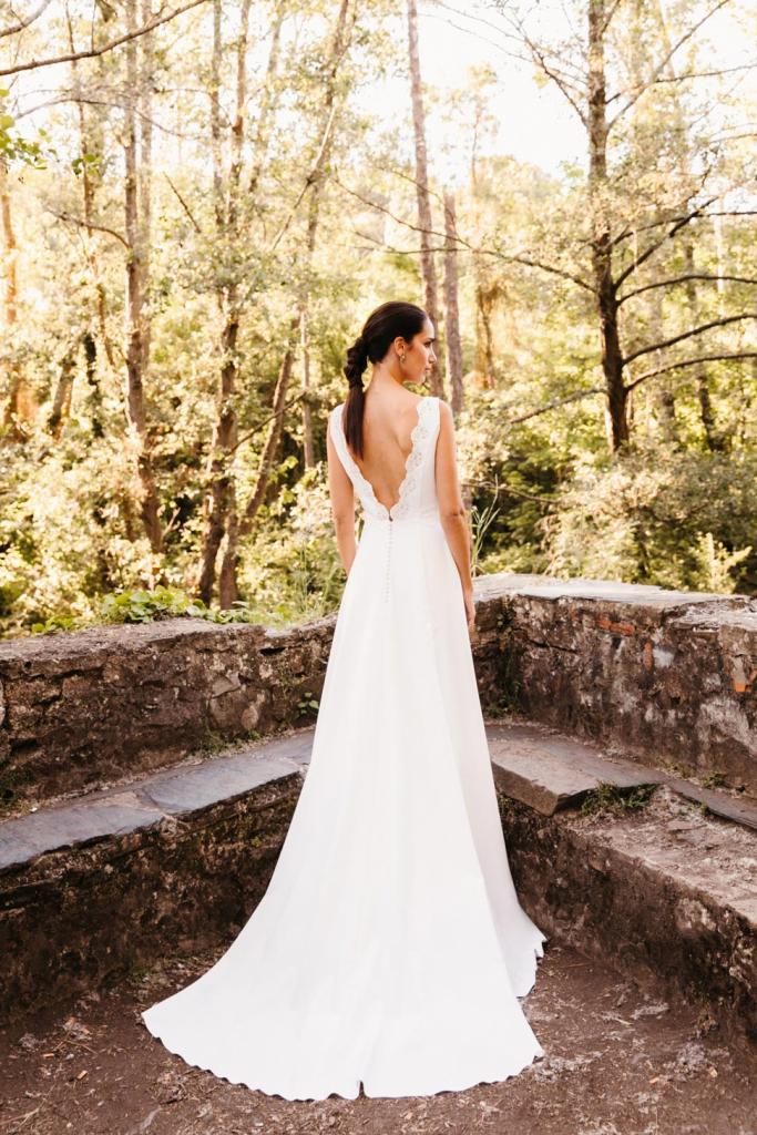 Vestidos de novia 2022 Silvia Fernandez Destello 2