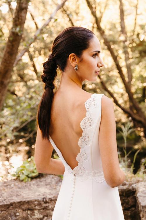 Vestidos de novia 2022 Silvia Fernandez Destello 3