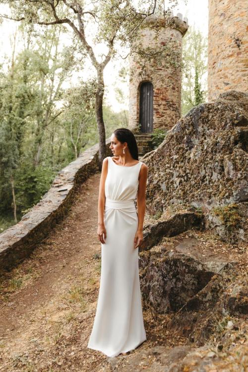 Vestidos de novia 2022 Silvia Fernandez Diana 10