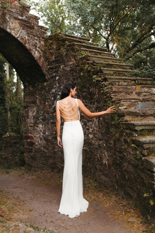 Vestidos de novia 2022 Silvia Fernandez Diana 12