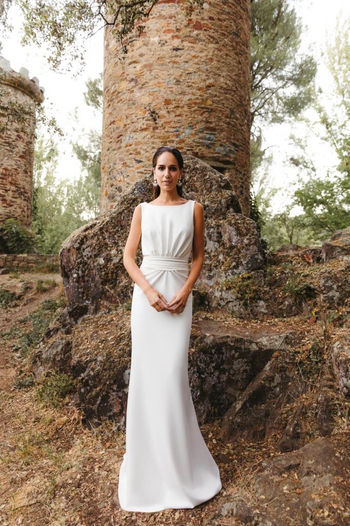 Vestidos de novia 2022 Silvia Fernandez Diana 5