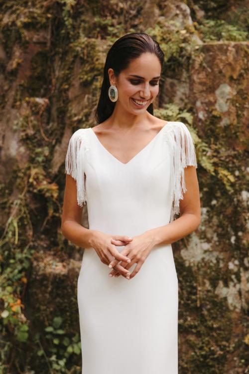 Vestidos de novia 2022 Silvia Fernandez Dina 7