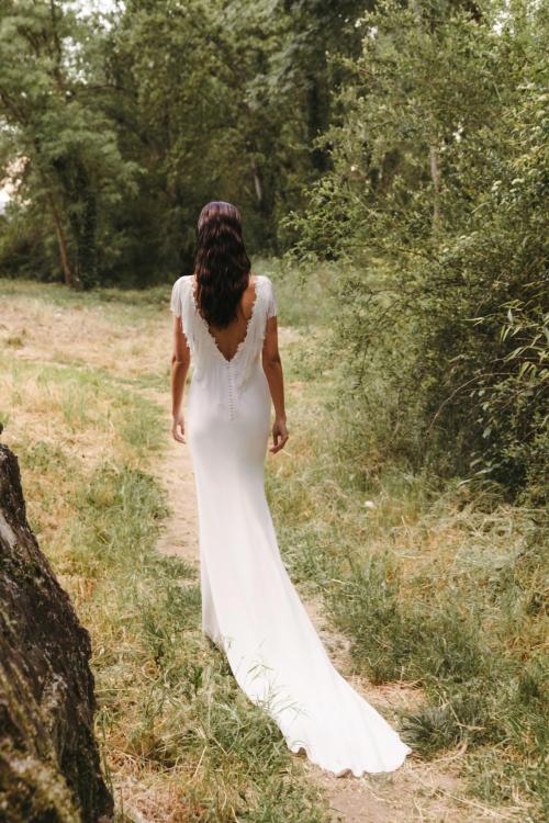 Vestidos de novia 2022 Silvia Fernandez Dina 8
