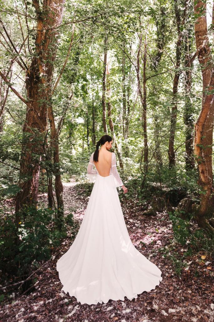 Vestidos de novia 2022 Silvia Fernandez Donatella 1