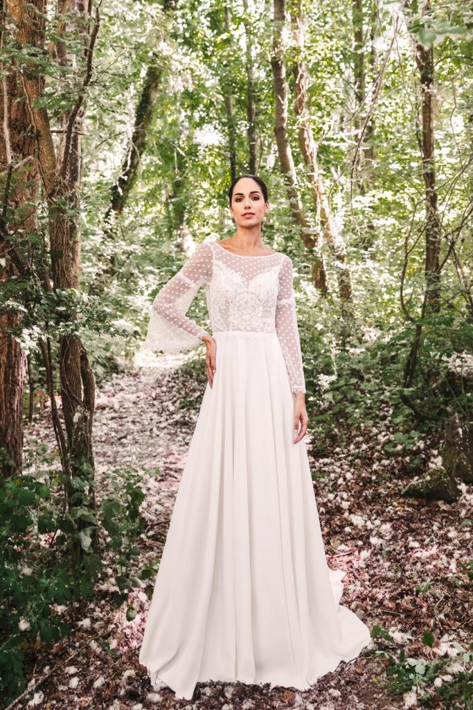 Vestidos de novia 2022 Silvia Fernandez Donatella 5