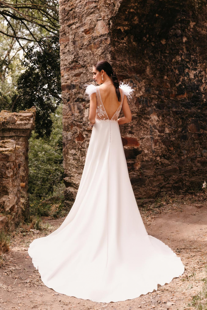 Vestidos de novia 2022 Silvia Fernandez Doris 1