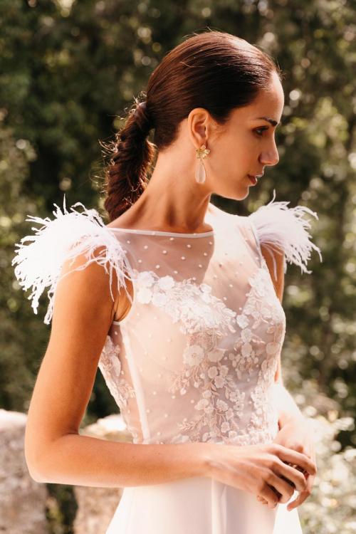 Vestidos de novia 2022 Silvia Fernandez Doris 5