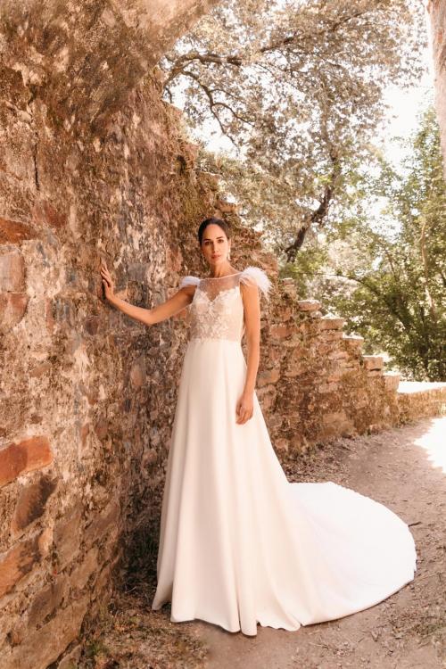 Vestidos de novia 2022 Silvia Fernandez Doris 6