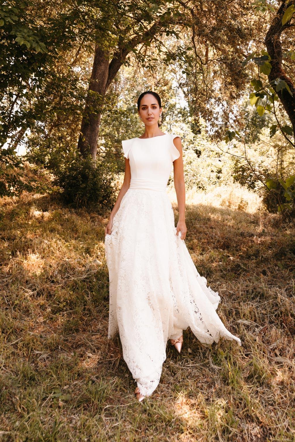Vestidos de novia dos en uno: la tendencia más original