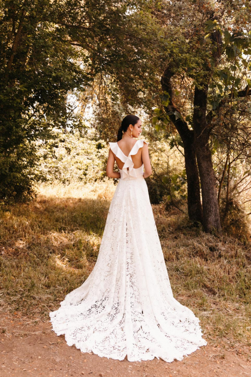 Vestidos de novia 2022 Silvia Fernandez Dublin 3
