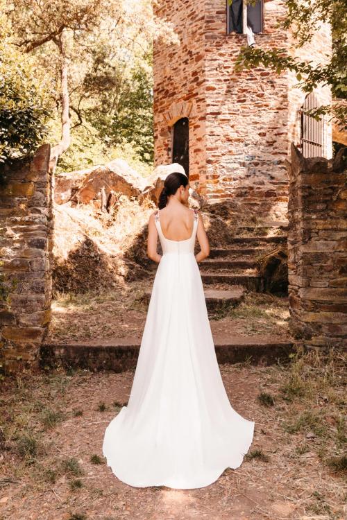 Vestidos de novia 2022 Silvia Fernandez Dulce 2