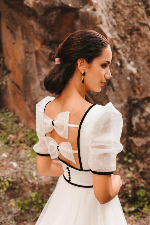 Vestidos de novia 2022 Silvia Fernandez Duque 3