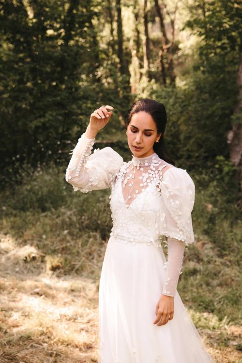 Vestidos de novia 2022 Silvia Fernandez Dylan 12