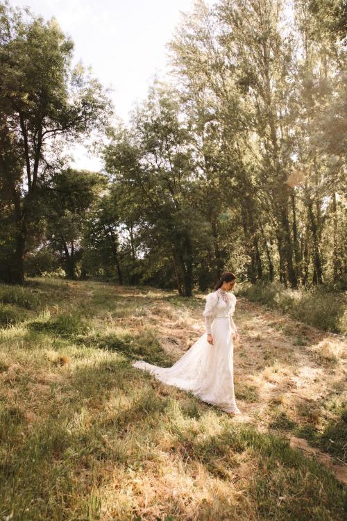 Vestidos de novia 2022 Silvia Fernandez Dylan 13