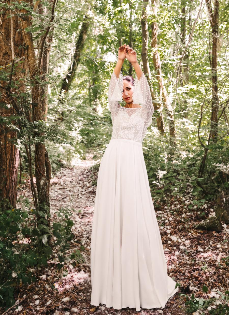 Vestidos de novia 2022 Silvia Fernandez Donatella 4